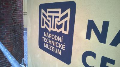 Logo painting - National technical museum